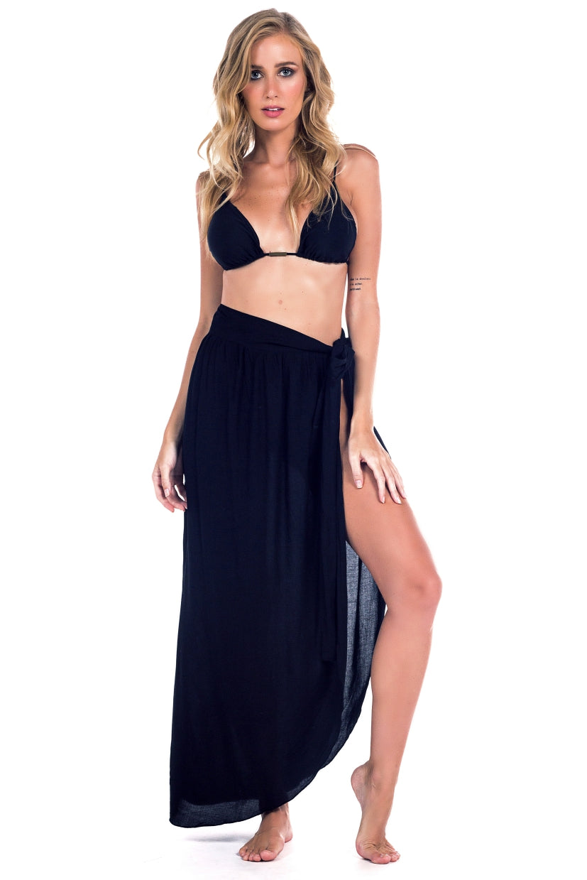 Skirt Beachlife Black