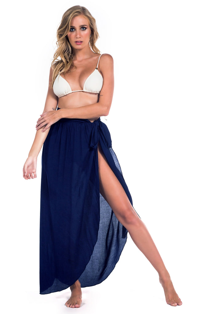 Skirt Beachlife Dark Navy