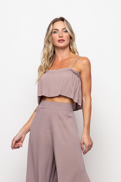 Top Francesca Light Brown