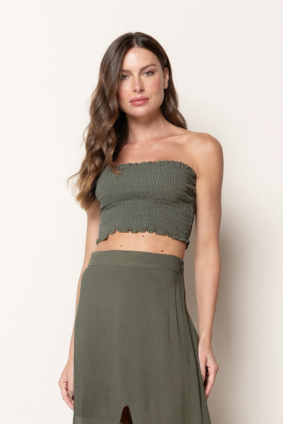 Top Nath Dark Green