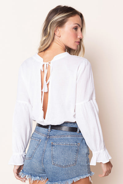 Top Nicolle Off White