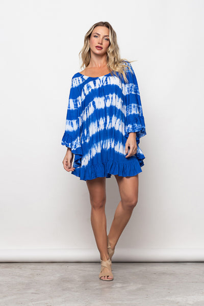 Dress Noronha Tie Dye Blue