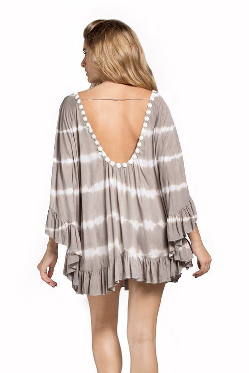 Tunic Phuket Tie Dye Light Brown