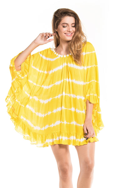 Tunic Phuket Tie Dye Yellow