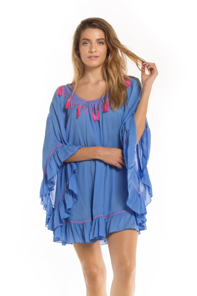 Tunic Sunset Purple Bllue