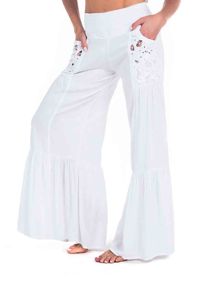 Maldives Pant White