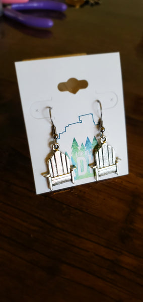 Adirondack Chair Earrings