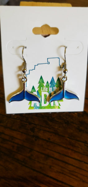Mermaid / Whale Tail Earrings