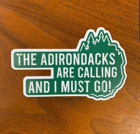 The Adirondacks are Calling - Green