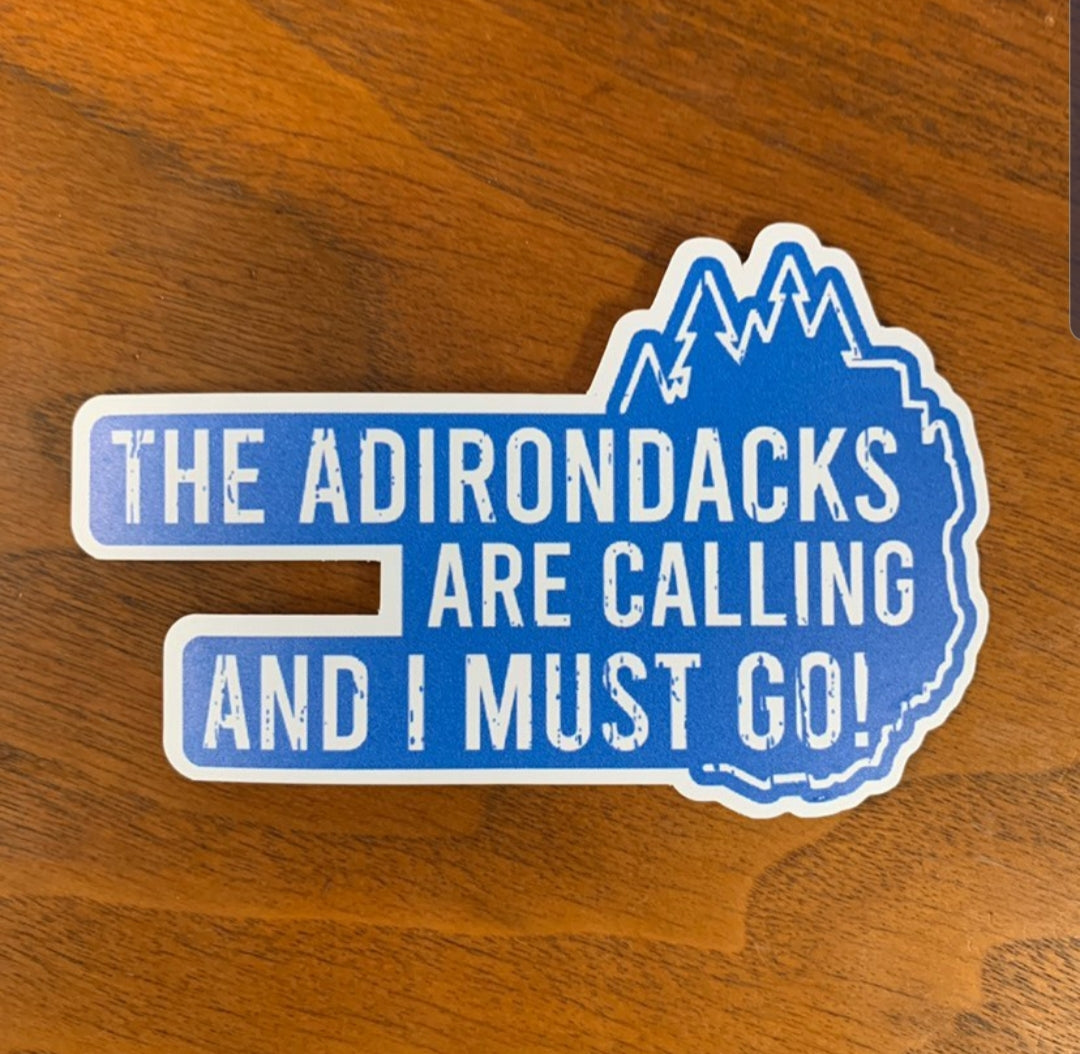 The Adirondacks are Calling - Blue