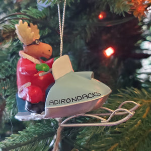 Snowmobile Ornament