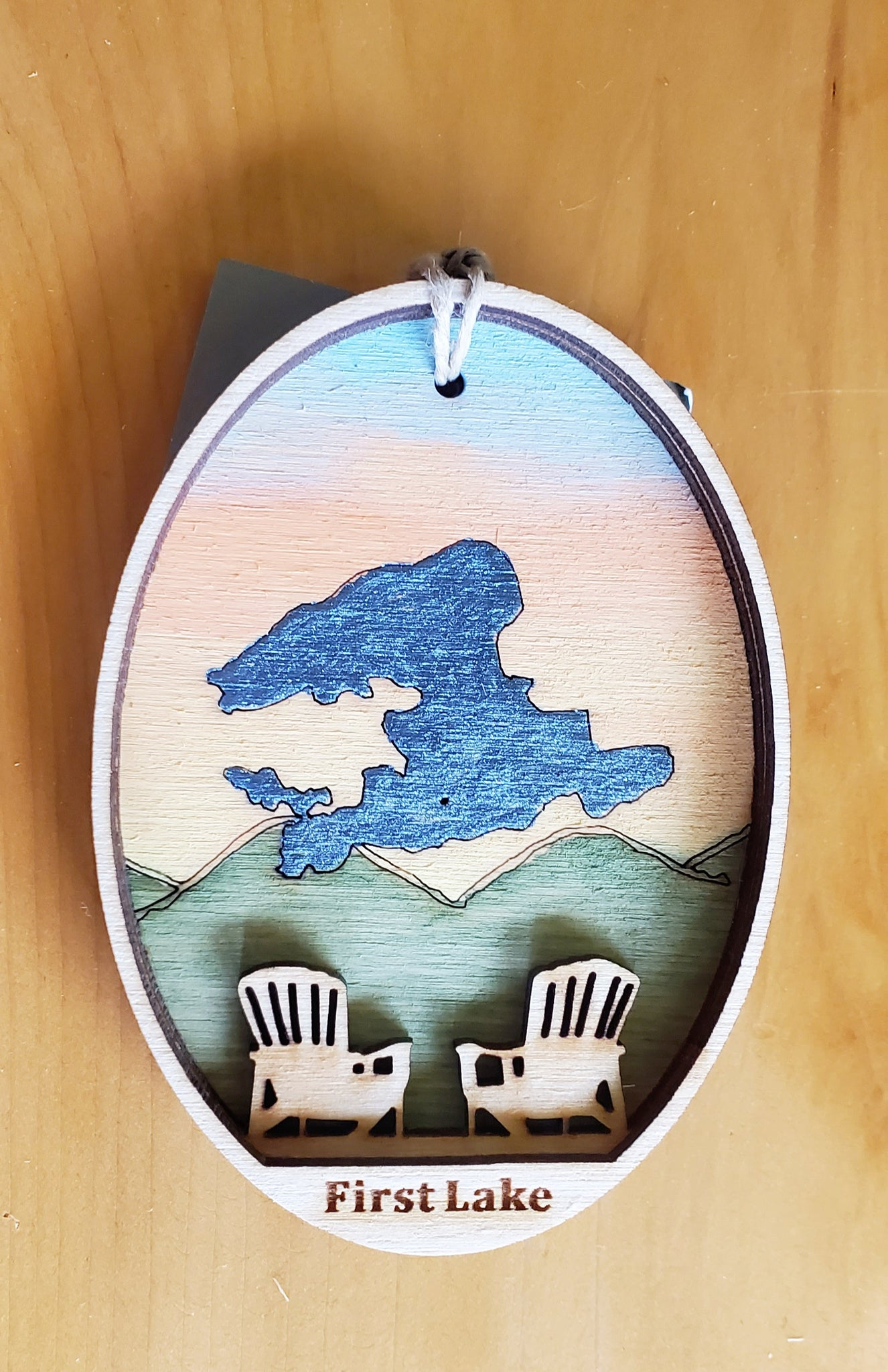 First Lake Ornament