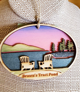 Brown's Tract Pond Ornament