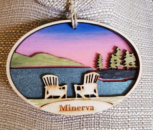 Minerva Ornament