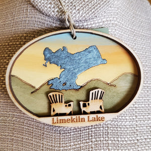 Limekiln Lake Ornament