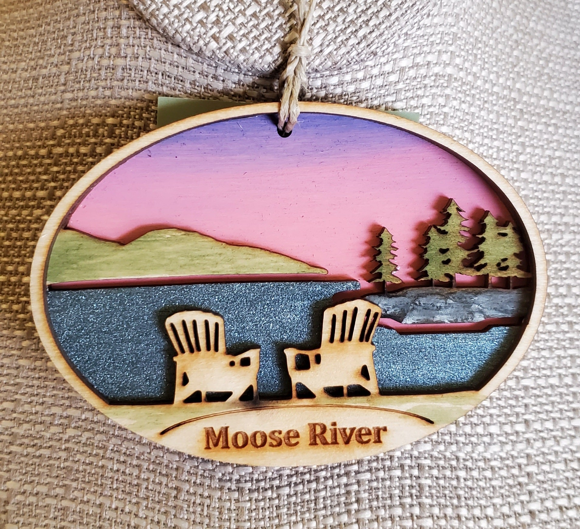 Moose River Ornament