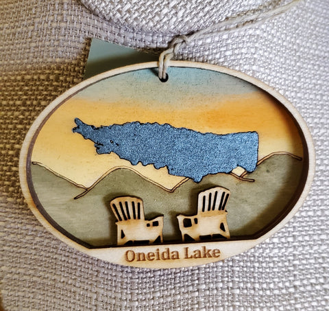 Oneida Lake Ornament