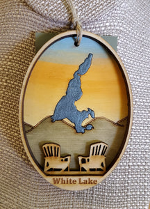 White Lake Ornament