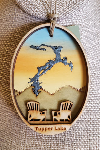 Tupper Lake Ornament