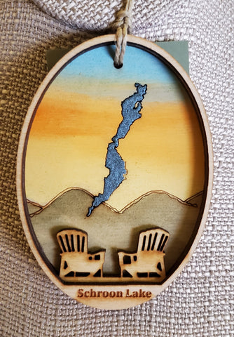 Schroon Lake Ornament