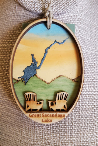 Great Sacandaga Lake Ornament