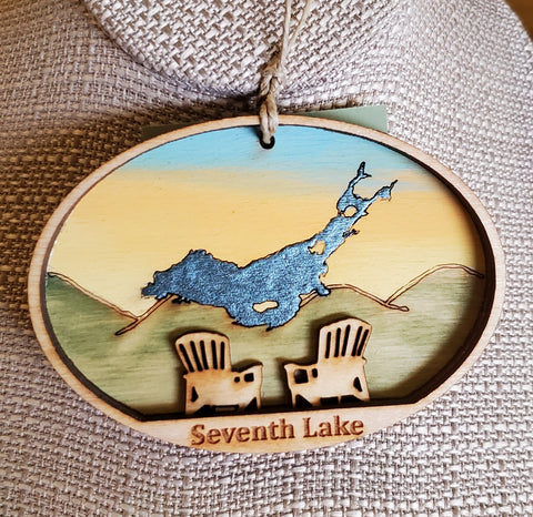 Seventh Lake Ornament