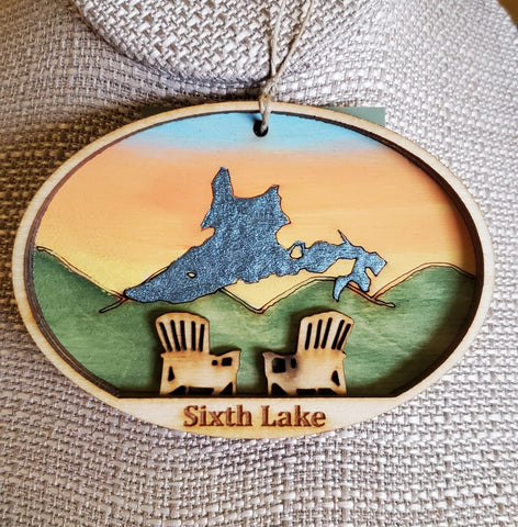 Sixth Lake Ornament