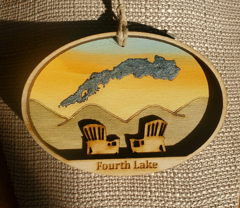 Fouth Lake Ornament