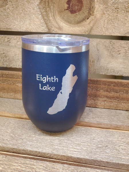 Eighth Lake 12 oz Travel Mug
