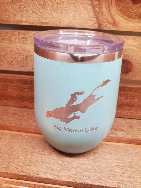 Big Moose Lake 12 oz Travel Mug