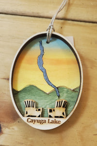 Cayuga Lake Ornament