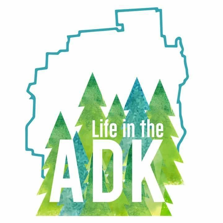 Life in the ADK Decal