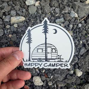 Happy Camper Decal