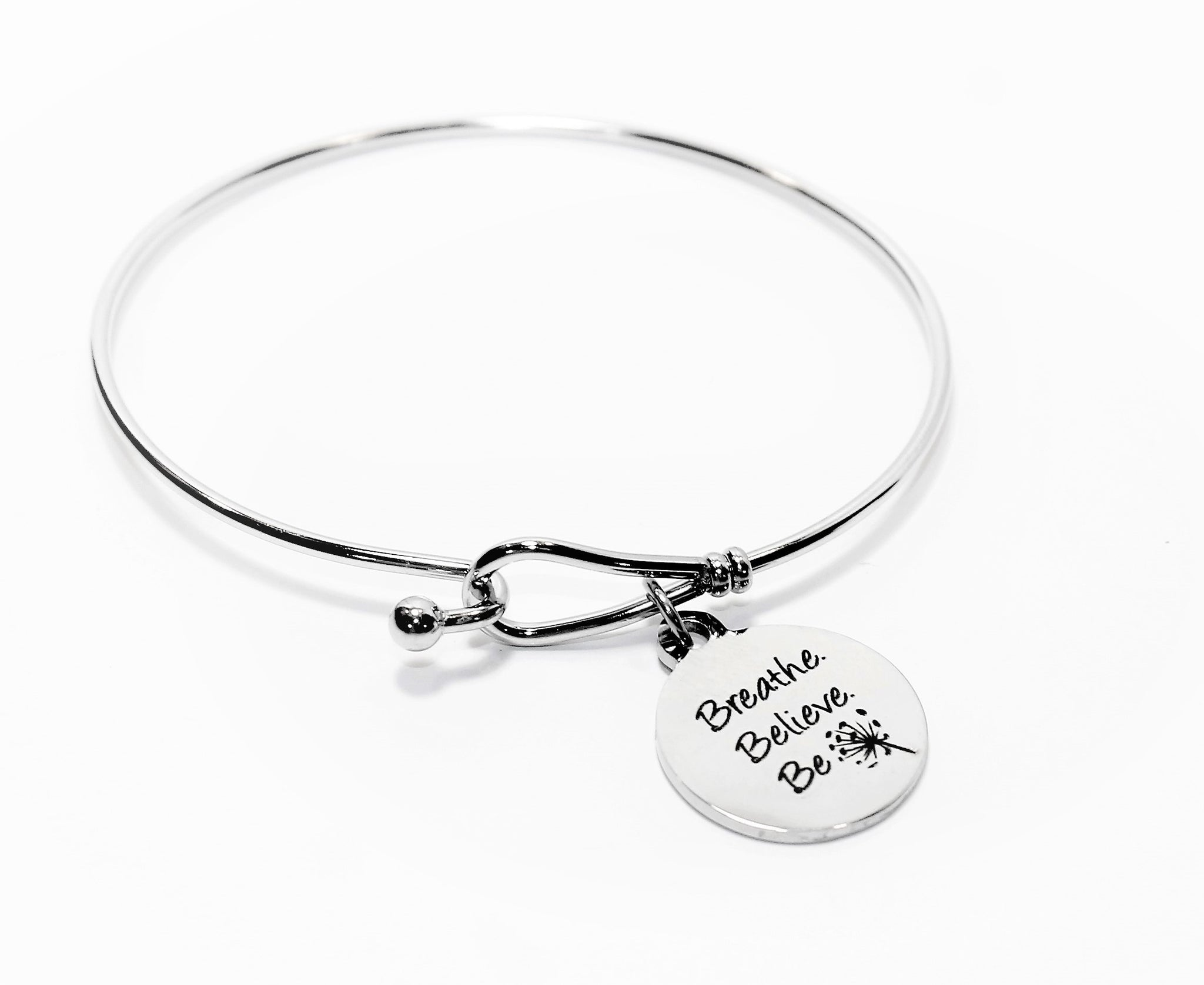Breathe Believe Be Bracelet, tranquility bracelet