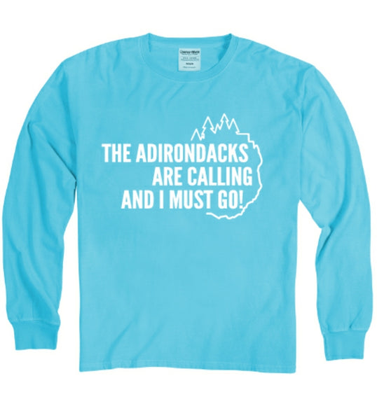 Adirondacks Are Calling Long Sleeve Shirt