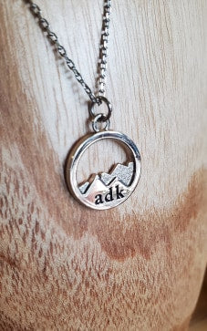 ADK Mountains Necklace