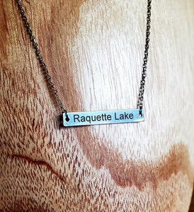 Raquette Lake Necklace