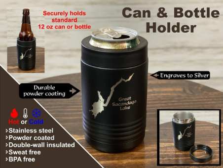 Just Another Day in the ADK - Hiking Insulated Koozies