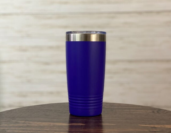 Blue Mountain Lake 20 oz Travel Mug