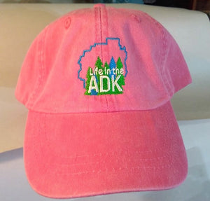 Life in the ADK Hats - Pink