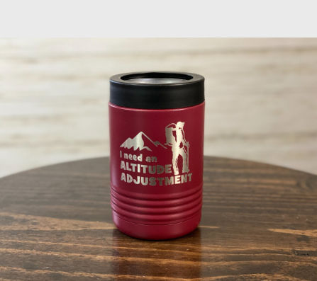 Altitude Adjustment Insulated Koozies