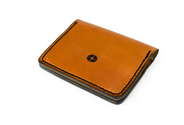 Handmade Leather Compact Cardholder