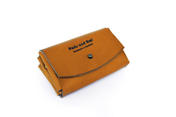 Handmade Leather Multi Pocket Purse