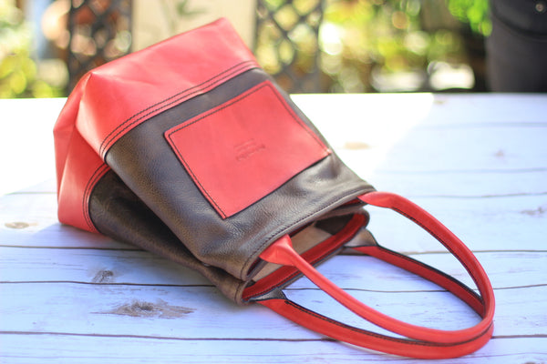 Handmade Leather Japanese Lunch Bag