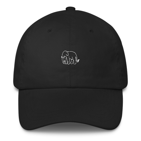 Ellie - Black Sports Cap