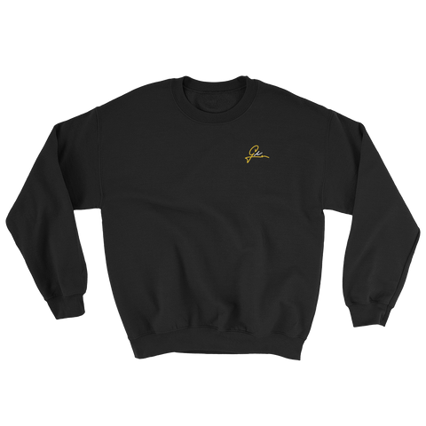 GL Signature Crewneck - Black