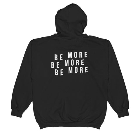 Be More 3peat Zip-Up Hoodie