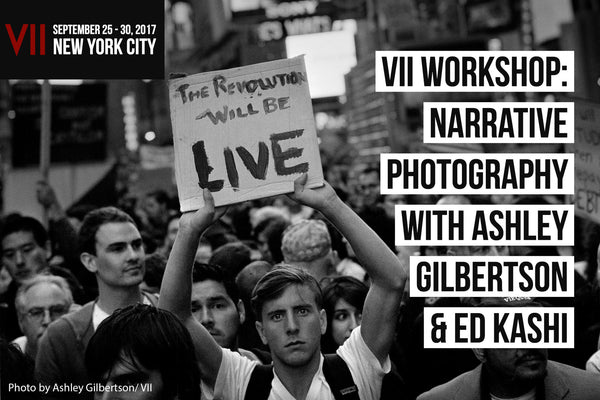 Narrative Photography with Ashley Gilbertson & Ed Kashi | September 25 - 30, 2017