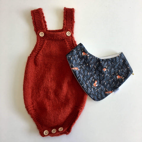 Romper | NZ Merino Alpaca Wool | Hand Knitted in NZ