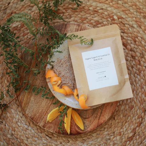 Organic Sugar & NZ Essential Oil Body Scrub | NZ Made